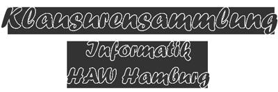 Klausurensammlung Informatik - HAW Hamburg